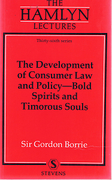 Cover of The Hamlyn Lectures: The Development of Consumer Law and Policy-Bold Spirits and Timorous Souls