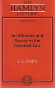 Cover of The Hamlyn Lectures: Justification and Excuse in Criminal Law