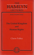 Cover of The Hamlyn Lectures: The United Kingdom and Human Rights