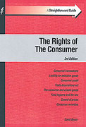 Cover of A Straightforward Guide: Consumer Law