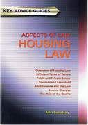 Cover of Key Advice Guides: Aspects of Law - Housing Law