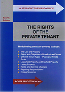 Cover of A Straightforward Guide: The Rights of the Private Tenant