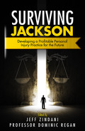 Cover of Surviving Jackson: Developing a Profitable Personal Injury Practice for the Future