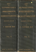 Cover of Key and Elphinstone's Compendium of Precedents in Conveyancing