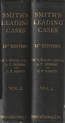 Cover of Smith's Leading Cases on Various Branches of the Law with Notes
