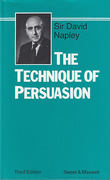 Cover of The Technique of Persuasion 3rd ed