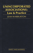 Cover of Unicorporated Associations: Law & Practice