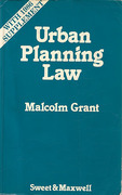 Cover of Urban Planning Law with 1986 Supplement
