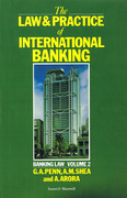 Cover of The Law and Practice of International Banking