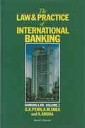 Cover of The Law & Practice of International Banking: Banking Law Volume 2