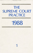 Cover of The Supreme Court Practice 1988 (The White Book)