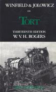 Cover of Winfield & Jolowicz On Tort 13th ed