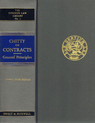 Cover of Chitty on Contracts 26th ed: Volumes 1 & 2