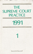Cover of The Supreme Court Practice 1991 (The White Book)