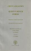 Cover of Chitty & Jacob's Queen's Bench Forms 21st ed: 4th Supplement