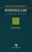 Cover of Charlesworth's Business Law