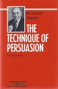 Cover of The Technique of Persuasion