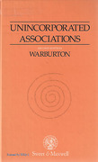 Cover of Unincorporated Associations: Law and Practice
