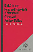 Cover of Bird & Turner's Forms and Precedents in Matrimonial Clauses and Ancillary Matters