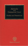 Cover of Steel & Parsons: Admiralty and Commercial Court: Forms and Precedents