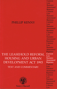 Cover of Leasehold Reform, Housing and Urban Development Act 1993: Text and Commentary