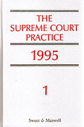 Cover of The Supreme Court Practice 1995 (The White Book )