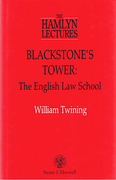 Cover of The Hamlyn Lectures: Blackstone's Tower: The English Law School
