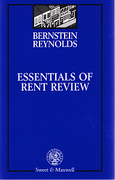 Cover of Essentials of Rent Review