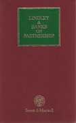 Cover of Lindley & Banks on Partnership 17th ed