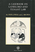 Cover of Casebook on Landlord and Tenant Law