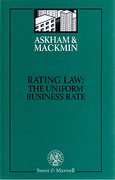Cover of Rating Law: The Uniform Business Rate