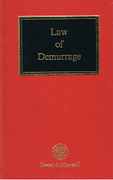 Cover of The Law of Demurrage