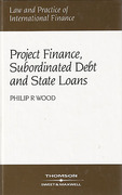 Cover of Project Finance, Subordinated Debt and State Loans