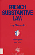 Cover of French Substantive Law: Key Elements