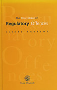 Cover of The Enforcement of Regulatory Offences