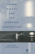 Cover of Humans Rights and the European Convention