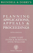 Cover of Blundell & Dobry's: Planning Applications, Appeals & Proceedings