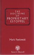 Cover of The Doctrine of Proprietary Estoppel