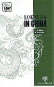 Cover of Banking Law in China