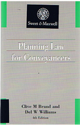 Cover of Planning Law for Conveyancers