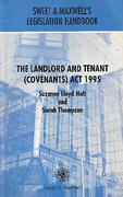 Cover of The Landlord and Tenant (Covenants) Act 1995