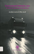 Cover of Commercial Vehicle Law: A Guide for Advocates and Operators