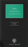 Cover of Kerr on the Law and Practice as to Receivers and Administrators 17th ed: 2nd Supplement