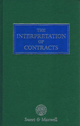 Cover of The Interpretation of Contracts