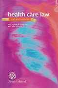 Cover of Health Care Law: Text and Materials