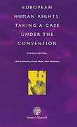 Cover of European Human Rights: Taking a Case Under the Convention