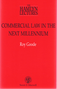 Cover of The Hamlyn Lectures: Commercial Law in the Next Millennium