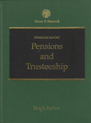 Cover of Pensions and Trusteeship