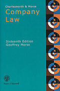 Cover of Charlesworth & Morse on Company Law