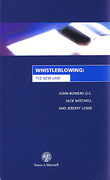 Cover of Whistleblowing: The New Law
